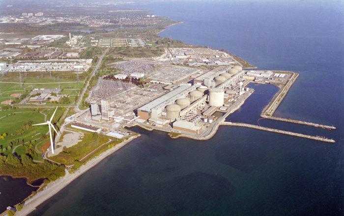 Ontario Power Generation Pickering Overhead View